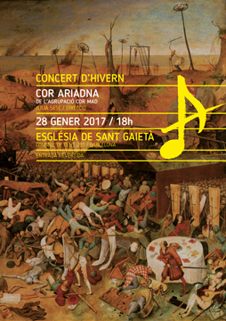 GRAPHICS FOR CONCERT<br/>Cor Ariadna