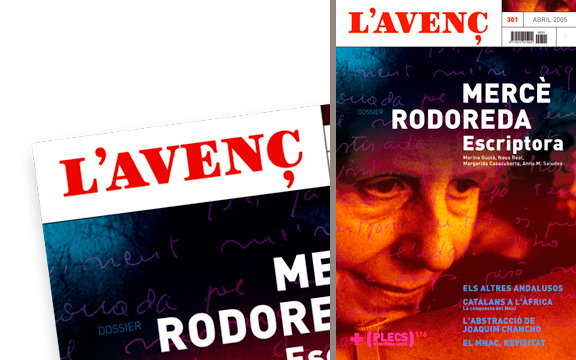 IDENTITY & LOGOTYPE FOR CULTURAL MAGAZINE<br/>L'AVEN&#199;