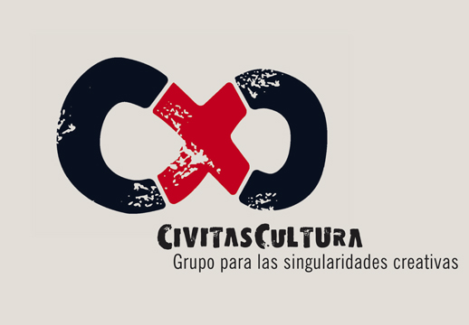 LOGOTYPE FOR CULTURAL EVENTS COMPANY<br/>CIVITAS CULTURA
