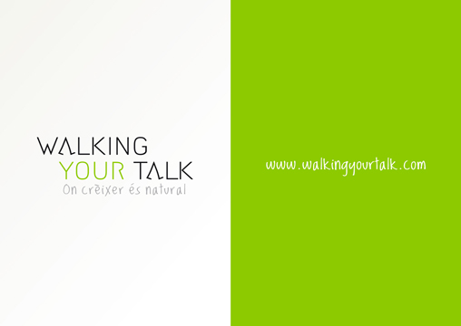 IDENTITY FOR PERSONAL COACHING COMPANY<br/>WALKING YOUR TALK
