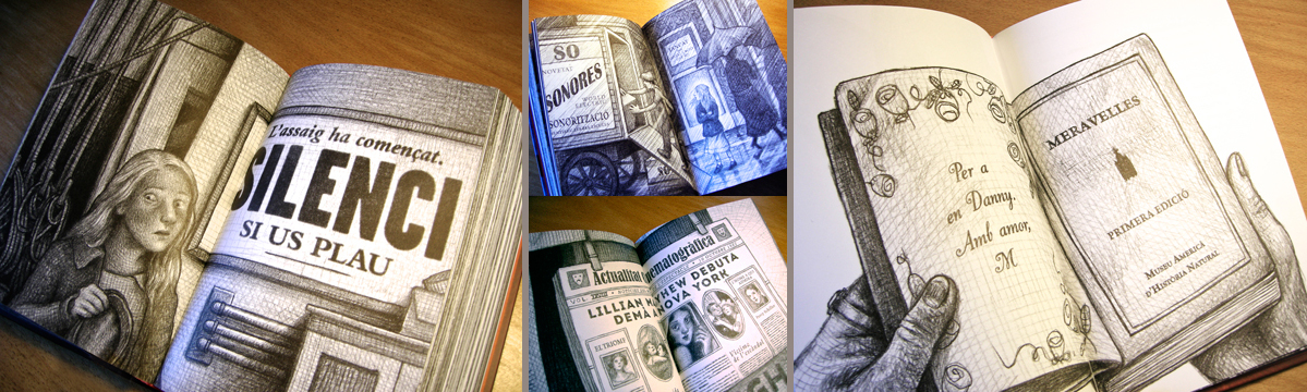 LETTERING FOR CATALAN & SPANISH TRANSLATION BOOK (WONDERSTRUCK BY BRIAN SELZNICK)<br/>BOOK&LOOK - CRU&#207;LLA